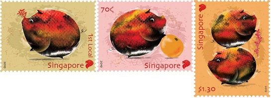 New Year of Pig Stamps – Internet Philatelic Dealers Association Inc