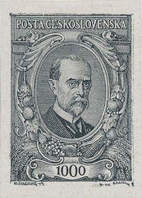 Tomáš Garrigue Masaryk by Max Švabinský