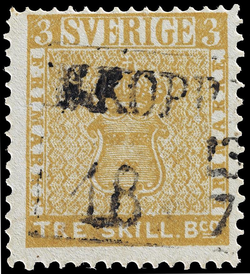 trekking yellow stamp
