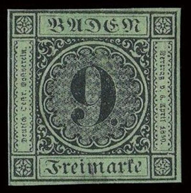 Baden 9 Kreuzer
