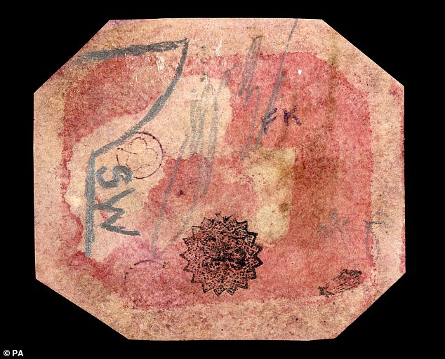 Stamp dealerStanley Gibbons paid £6.2million for this stamp printed inBritish Guiana in 1856