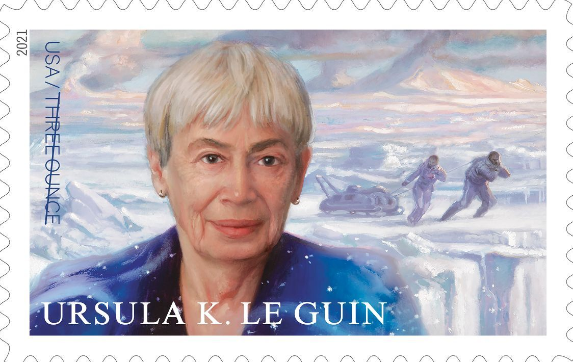 New stamp honors science fiction author Ursula K. Le Guin